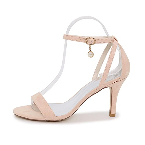 More Heel Women's Sandals amp; Peep High Party available Toe Elegant Silk Evening Wedding Low Shoes Colors Blue XwdxSPOq