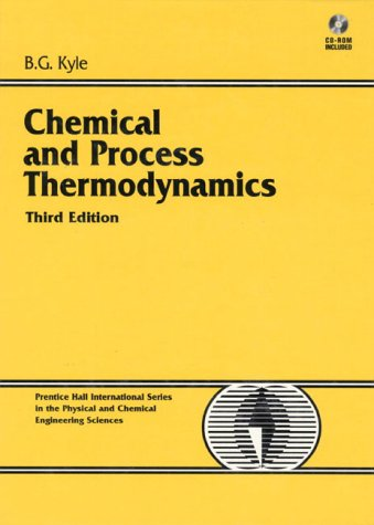 Chemical and Process Thermodynamics (3rd Edition)