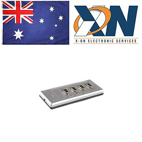 USB 2.0 to 4 Port Serial RS422 Adapter; high temperature plastic enclosure, FTDI Chipset, cable included by EasySYNC Limited