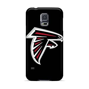 High Quality Hard Cell-phone Case For Samsung Galaxy S5 (lQR1680wAWu) Unique Design Realistic Atlanta Falcons 4 Image