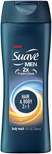 Suave Men Body Wash, Hair & Body