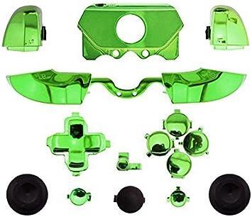 Canamite - Carcasa para botones y gatillos LB RB LT RT para mando de Xbox One con conector de auriculares de 3,5 mm dorado: Amazon.es: Electrónica