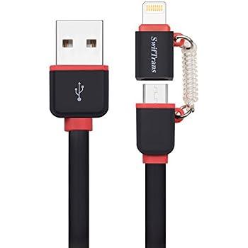 Amazon.com: Skiva CB137 USBLink Short Lightning Duo 2-in-1