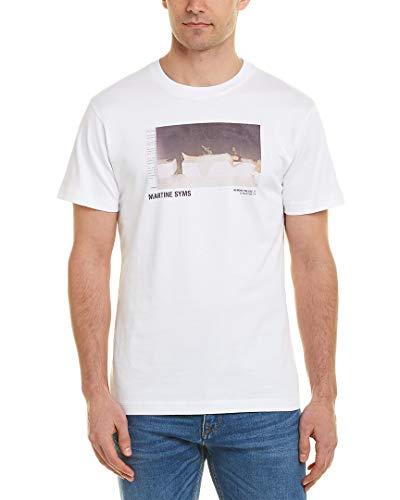 Helmut Lang Mens - Helmut Lang Mens T-Shirt, M, White