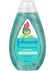 Shampoo Infantil, Johnson's Baby, Hidratação Intensa, 400 ml