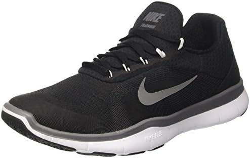 sports shoes f0436 975d0 Amazon.com  Nike Men s Free Trainer v7 Training Shoe Black Dark Grey White  Size 12 M US  Sports   Outdoors