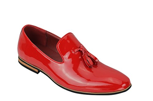 Rouge Mocassins Xposed motifs loafers Homme wHnC0