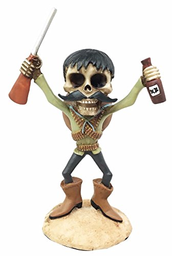 Day Of The Dead Mexicanos Bandidos Desert Bandit With Shotgun & Tequila - Model Tequila