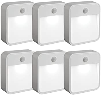 6-Pack Mr Beams Motion Sensing LED Nightlight