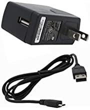 E2B Home Travel AC Wall Micro USB Charger Adapter for GreatCall Jitterbug Smart A622GL 1000mAh 5ft