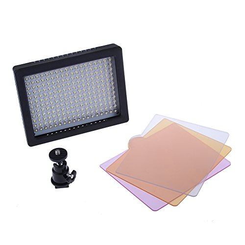 Bestlight Professional 216 LED Dimmable Ultra High Power Panel Digital Camera / Camcorder Video Light W216 With 216pcs Lamps, LED Light for Canon, Nikon, Pentax, Panasonic,SONY, Samsung and Olympus Digital SLR Cameras by Neewer