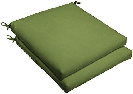 Mozaic AMCS105599 Indoor or Outdoor Sunbrella Square Chair Seat Cushions Set