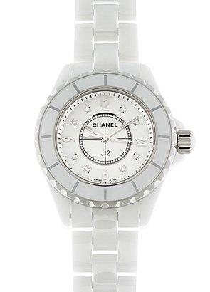 sale retailer f9874 0fac0 Amazon   [シャネル]CHANEL 腕時計 H2570 J12 29mm 白セラミック ...