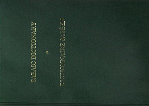 Sabaic Dictionary  English French Arabic   Dictionnaire Sabeen  Anglais Francais Arabe
