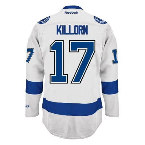 1c13e4f9dec84 outlet Alex Killorn Tampa Bay Lightning Reebok Premier Away Jersey ...