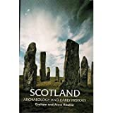 Front cover for the book Scotland: Archaeology and Early History by Graham Ritchie