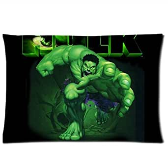 Hulk Decorative Pillow : Amazon.com: The Incredible Hulk Pillowcases Custom Pillow Case Cushion Cover 20 X 30 Inch Two ...