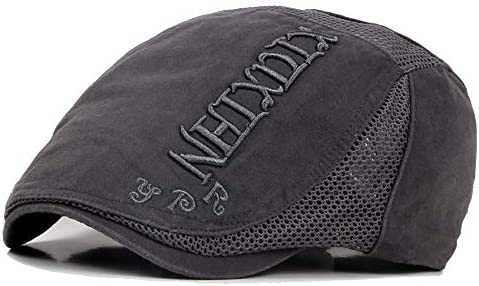 野球帽 ハンチング メンズ ハット ゴルフ コットン 調整可能 ソフト カジュアル 鳥打帽 55-60cm LWQJP (Color : 3, Size : Free size)