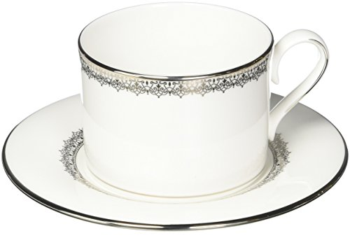 Lenox Lace Couture Cup and Saucer Set, ()