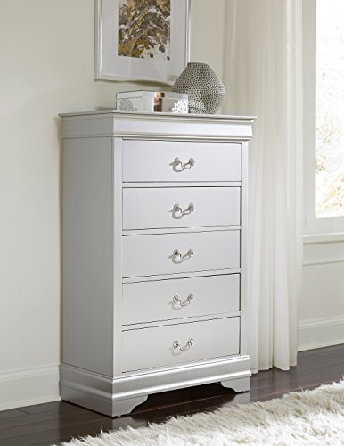Price comparison product image Global Furniture USA Silver-CH Marley Chest of Drawers