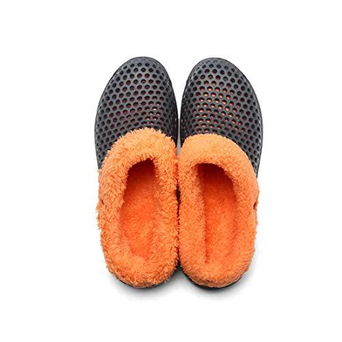 Pantofole Interno Antiscivolo Di Scarpe Grigio Regalo E Invernali Per Da Donna Uomo Natalizio apraAq1w