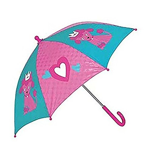 C.R. Gibson Gibby and Libby Kids' Umbrella, Poodle, One (Poodle Umbrella)