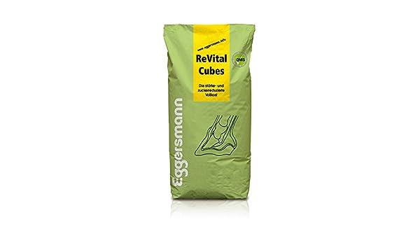 , grosor de alta calidad y zuckerarmes Forro especial sin cereales, Eggers Muñeco revital Cubes para caballos, 1 unidades (1 x 25 kg): Amazon.es: Productos ...