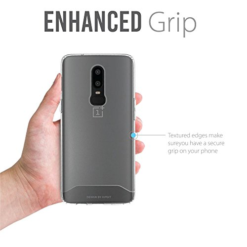 sports shoes ce711 23b49 OnePlus 6 Case, TUDIA [ARCH S Series] Slim-Fit HEAVY DUTY Drop-Proof  Lightweight Flexible Soft TPU Protective Shock Absorption Minimal Design ...