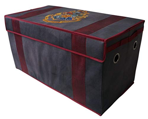 (Make Clean up Fun and Easy with Trendy,Spacious,Durable Yet Lightweight Harry Potter Soft Collapsible Storage Toy Trunk,Perfect for Storing Toys,Books,Games or Clothes)