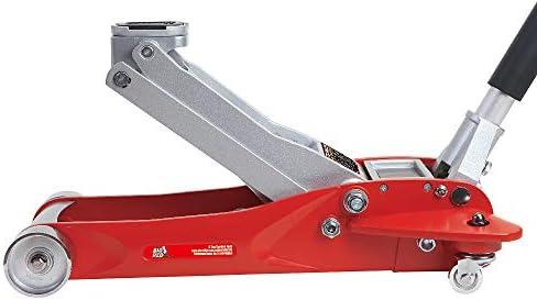 Double Piston Pump Torin Big Red Aluminum Racing Floor Jack 3 Ton Capacity