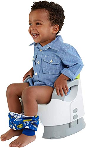 Fisher-Price Custom Comfort Potty Seat for Toddlers #CBV06 - Replacement Pot - White - for Boys - Includes 1 Replacement Bowl