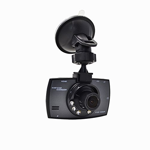 Dash Cam, Car Camera Vehicle Full HD 1080P 120 Degree Wide Angle with Night Vision