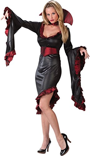 Vampiress Ruffle with Collar Costume - X-Large - Dress Size (Ruffle Vampiress Costumes)