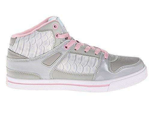 Erhielt Flurt Frauen Hip Hop 2 Fashion Sneakers Grau / Pastellrosa