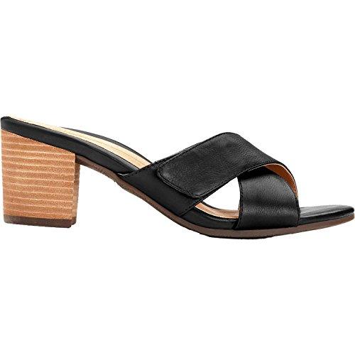 Vionic Women's Lorne Slide Sandal Black 7 M by Vionic