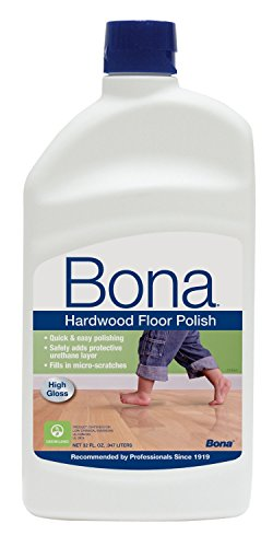 Gloss Hardwood Floors - Bona Hardwood Floor Polish- High Gloss- Value Pack of 64 Ounces