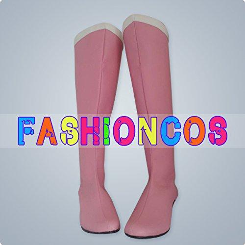 ★サイズ選択可★女性23CM UA0362 美少女戦士セーラームーン セーラーちびムーン ちびうさ コスプレ靴 ブーツ