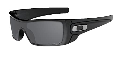 a48bb13249 Image Unavailable. Image not available for. Color  Oakley Batwolf  Sunglasses Matte Black Frame Polarized Black Lens