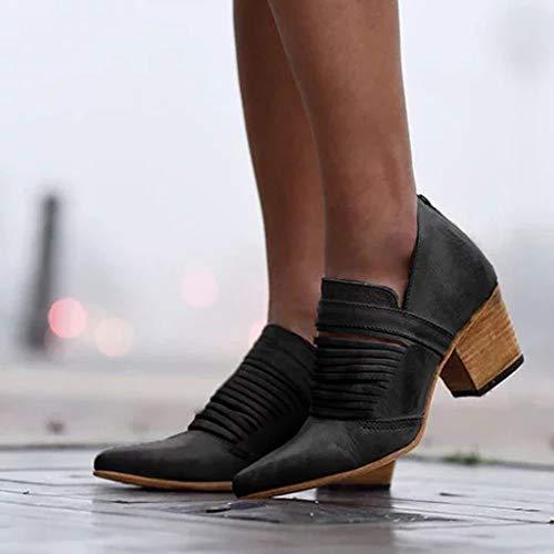 pour pointes vintage dans hauts noir avec Toe Chaussures à le , hauts dos Zyueer pour femmes Open Talons femmes talons a1qxwnIZ