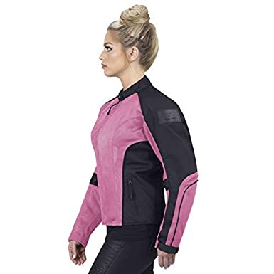 Viking Cycle Motorcycle Jackets for Women Viking Cycle Warlock Women/'s Mesh Motorcycle Jacket