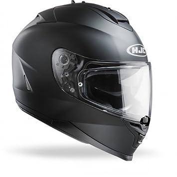 HJC 12153107 Casco de Moto, Rubbertone Negro, Talla S