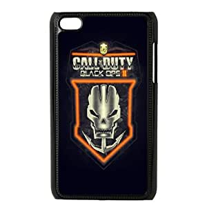 iPod Touch 4 Case Black Call Of Duty Black Ops2 Crest JSK849434
