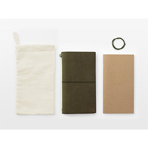 MIDORI TRAVELER'S notebook OLIVE EDITION 2017 Limited Photo #2