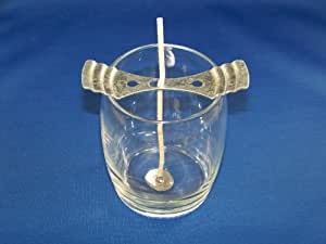 Metal Candle Wick Centering Device, 1 piece