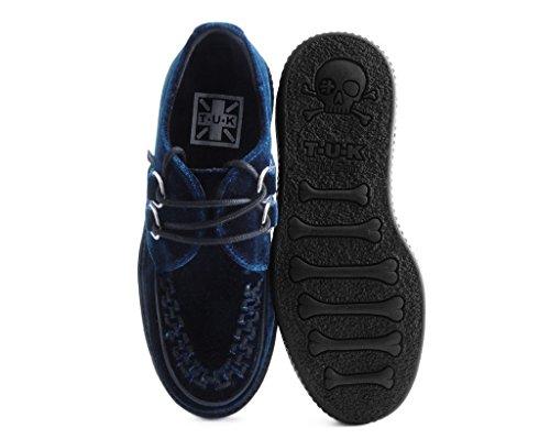 T Velluto Notte Blu Viva K Blu Shoes U Basso Rampicante Pianta qwpnOxXqr1
