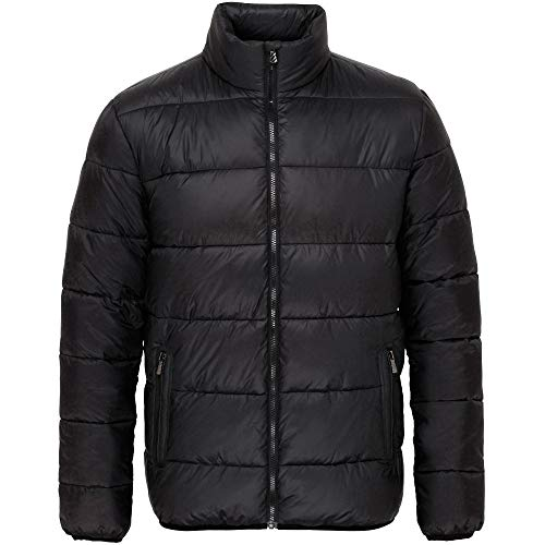 Jacket Puffa Black Quilted Mens Fortrose Down Black OutdoorLook Coat n6TZqXHw