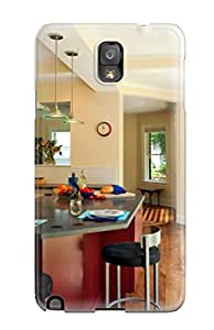 Durable Protector Case Cover With Red Kitchen Island Hot Design For Galaxy Note 3