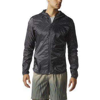 adidas Men's Running Tokyo Jacket, Utility Black, Small by adidas (Image #1)