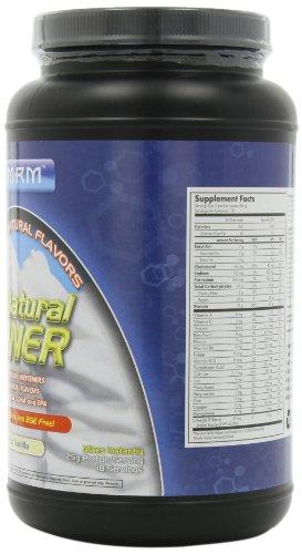 MRM All Natural Gainer, Rich Vanilla, 3.3 Lbs Tub