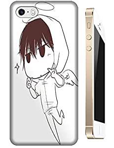 Flying Baby Boys Cute Lovely Handsome Angel Cartoon Design Cell Phone Cases For Apple Accessories iPhone 5C
